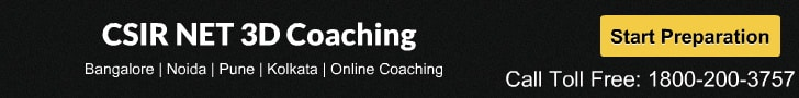 CSIR NET 3D Coaching