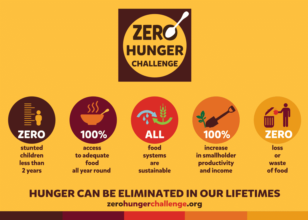 Zero Hunger Challenge Make A Difference On World Food