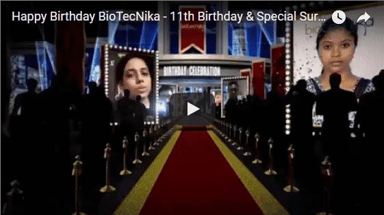 Biotecnika's 11th Birthday Surprise