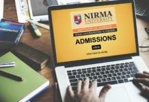 M.Sc. & Ph.D. Admissions 2018 @ Nirma University