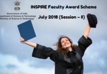 INSPIRE Fellowship Scheme 2018