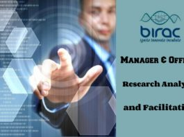 Govt BIRAC Biological & Life Sciences Jobs With Rs. 90,000