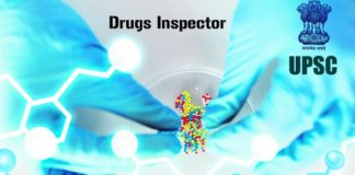 17+ Govt UPSC Biotech Drugs Inspector Recruitment 2018