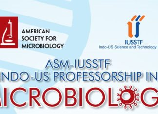 ASM-IUSSTF INDO-US Professorship In Microbiology 2019
