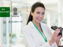 50+ Biosciences Govt Staff Selection Commission (SSC) Recruitment 2018