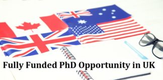 Fully Funded PhD Opportunity in UK Under Marie-Curie PhD Fellowship