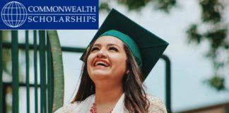 Commonwealth Scholarships For MSc & PhD 2019