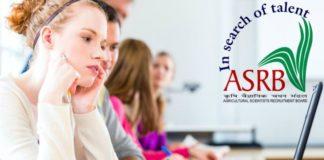 ASRB ICAR National Eligibility Test (NET-II) 2018 Notification