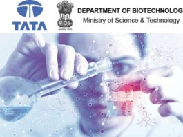 Tata Innovation Fellowship 2018-19 (Life Sciences & Biotechnology)