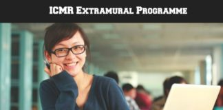 ICMR Extramural Adhoc Research Programme Notification