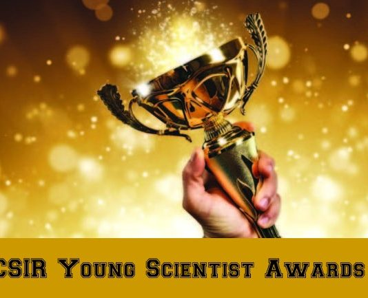 CSIR Young Scientist Awards 2019 - Rs 25 Lakh Research Grant
