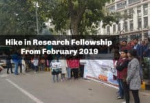 Hike in Research Fellowship From February 2019 Confirmed?
