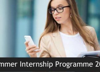 Summer Internship Programme 2019