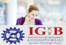 CSIR - IGIB PhD Admission 2019