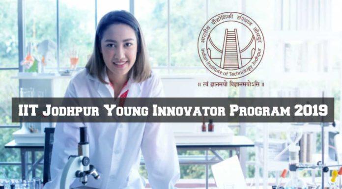 Young Innovator Program 2019