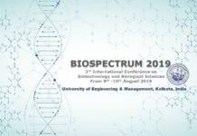 BIOSPECTRUM 2019 UEM Kolkata
