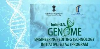 DBT-IUSSTF Indo-US GETin 2019