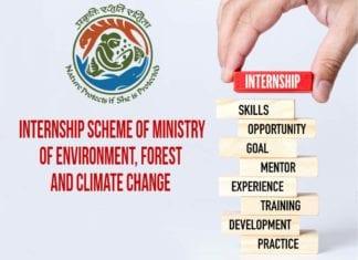 Govt MoEF&CC Internship Scheme