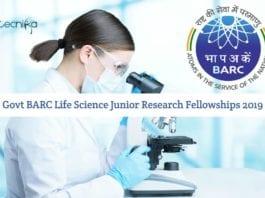 BARC Life Science Fellowships