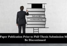 UGC May Discontinue Paper Publication Prior to PhD Thesis Submission