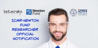 ICMR-Newton Fund Researcher Official
