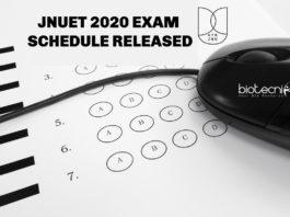 JNUET 2020 Exam Schedule Released