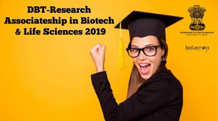 DBT-Research Associateship