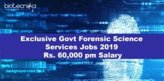 Exclusive Govt Forensic