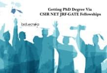 Getting PhD Degree Via CSIR NET JRF-GATE Fellowships