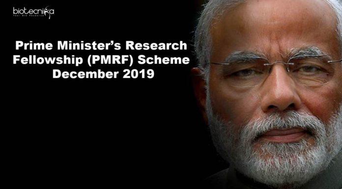 PMRF Scheme December 2019