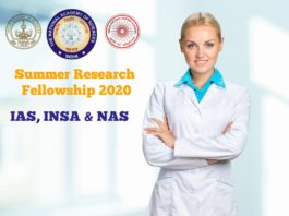 Science Academies' Summer Research