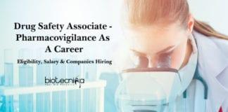 Drug Safety Associate - Pharmacovigilance