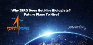 ISRO Biologists