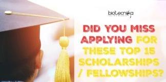 Top 15 Scholarships