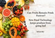 New sachets keep produce from going bad