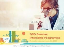 CRG Summer Internship 2020