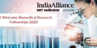 DBT Welcome Biomedical Research Push