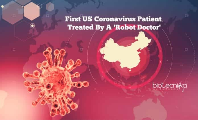 Robot Doctor for the first US coronavirus patient