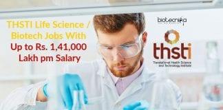 THSTI Vacancies