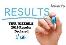 TIFR JGEEBILS 2019 Results Declared