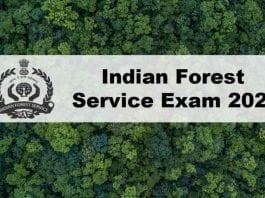 UPSC IFS 2020 Exam
