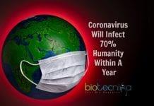 coronavirus will infect 70% humanity