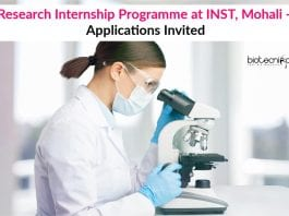 Research Internship Programme