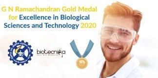 G N Ramachandran Gold