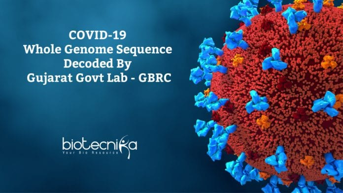 GBRC Decodes Genome Sequence Of Covid-19 Virus