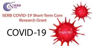 SERB COVID-19 Short-Term Core