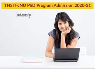 THSTI-JNU PhD Program Admission