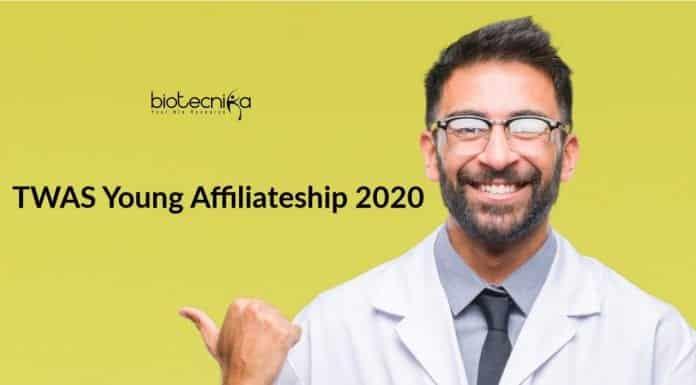 TWAS Young Affiliateship 2020
