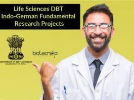DBT Indo-German Fundamental Research