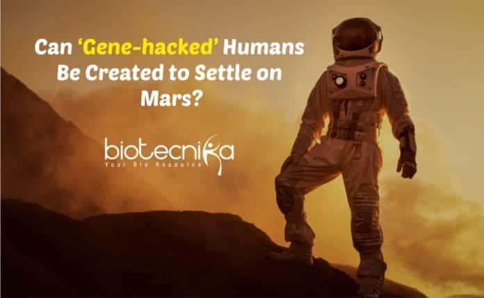 'Gene-hacked' Humans on Mars